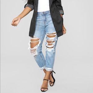 MUST GO❗️❗️ fashion nova boyfriend jeans